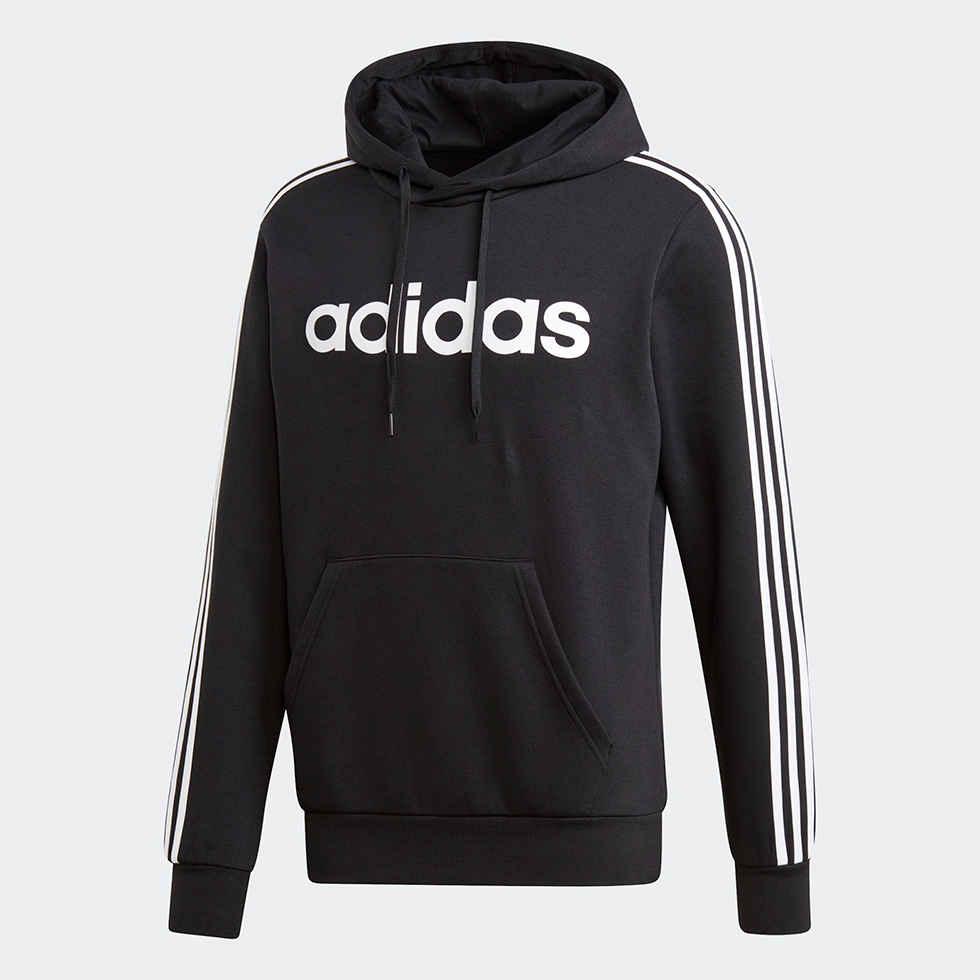 Adidas ESSENTIALS 3-STRIPES PULLOVER HOODIE